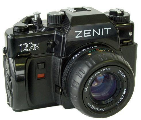 ZENIT Zenit 122K 50mm (B grade) camera
